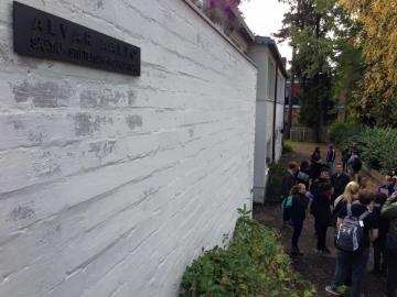 フィンランド出張 スタジオ・アアルト&アアルト自邸を訪ねる
