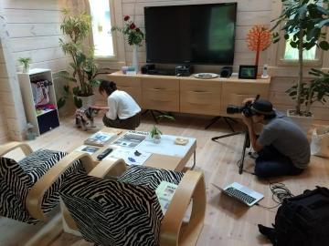 ペットと暮らすライフスタイル雑誌『collor』のイメージカットにForest Crewモデルハウスが採用されました。