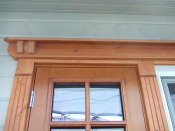 """北欧スタイル""""ランタサルミログハウス""""建築風景(愛媛県伊予郡松前町)"""