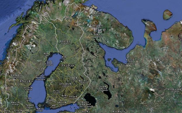 Finland旅行記2010 ~北極圏内の地ケミヤルヴィへ~2日目