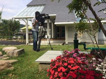 6ch あいテレビのTV映像撮影 北欧住宅モデルハウス