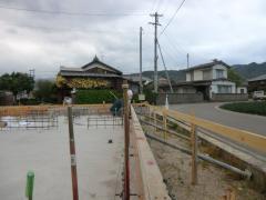 100坪の敷地に建つ北欧平屋住宅!進捗状況(愛媛県 西条市 北欧住宅 フォレストクルーログハウス)