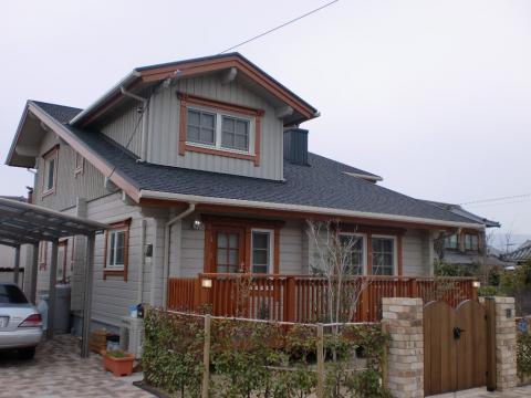 究極の木造住宅(愛媛県 松前町 北欧住宅 フォレストクルーログハウス)