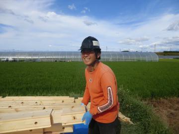 ログ積み終わりました(愛媛県 西条市 北欧住宅 フォレストクルーログハウス)