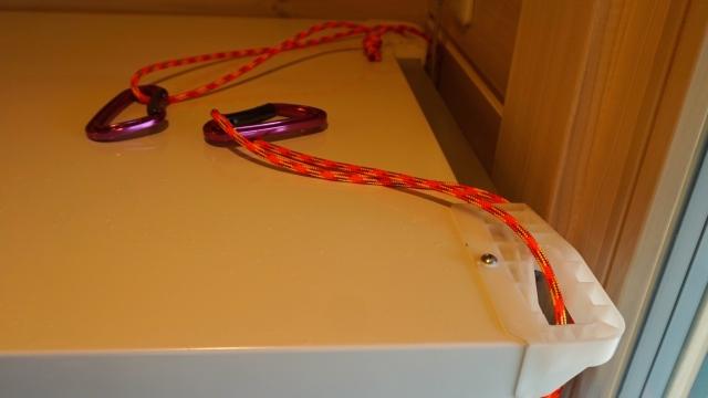 防災士養成講座を受講後に即実施!(ログハウスで災害時の家具転倒防止対策と点検。)