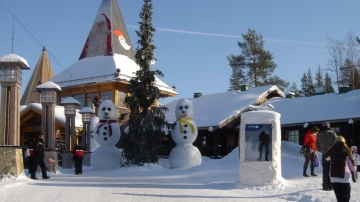 Merry Christmas! #サンタクロース村 #フィンランドのサンタクロース #北極圏ラップランド地方の冬の景色
