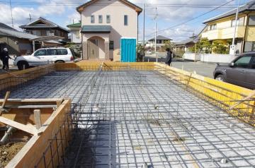 徳島県阿南市にて北欧ログハウス建築工事がスタート!