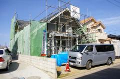 四国 香川県さぬき市志度町 ログハウス建築中⑥(香川初のランタサルミログハウス)