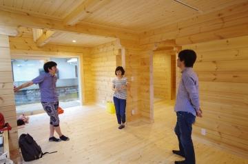 祝!F様邸お引渡し 徳島県阿南市フィンランドログハウス