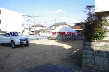 祝!地鎮祭(愛媛県 松山市 北欧ログハウス)