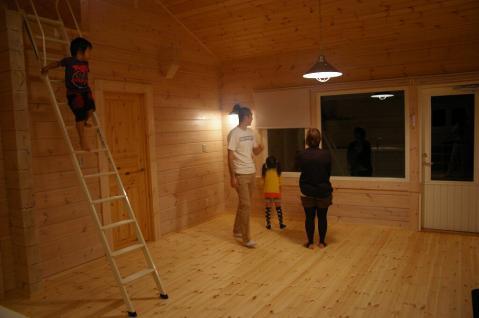 お引き渡しを迎えました!「北欧住宅」平屋フィンランドログハウス 愛媛県西予市宇和町