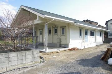 【完成イベント】北欧住宅ビルドインガレージのあるフィンランドログハウス in 愛媛県松山市