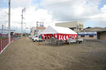 地鎮祭を行いました。[北欧住宅』ForestCrewログハウス 愛媛県西条市