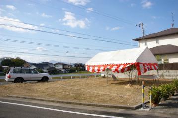 祝!地鎮祭。人生3度目のマイホームを当社で…北欧住宅が着工します。(愛媛県東温市)