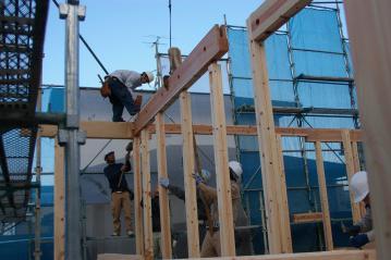 祝!北欧住宅が上棟しました!愛媛県東温市