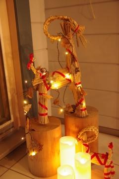 サンタクロース発祥の地フィンランドのクリスマス用オーナメント展示販売&ガーデンLEDで庭も楽しむ!