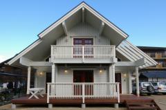 愛媛県西条市の北欧住宅 ランタサルミログハウス 外観&内観写真