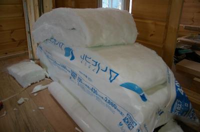 健康住宅へのこだわり~伊予郡松前町北欧スタイル「ランタサルミログハウス」建築現場~