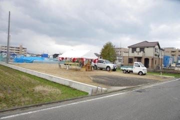 【祝!地鎮祭】ビルトインガレージのある北欧住宅 フィンランドログハウス in 愛媛県 松山市