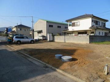基礎工事完了(香川県 北欧平屋住宅 フォレストクルーログハウス)