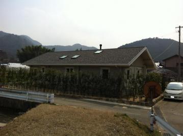 寒冷の地に建つ北欧ログハウス(愛媛県 西予市 フォレストクルーログハウス)