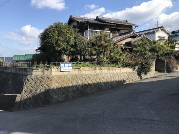 松山市 味酒小学校区 土地探しログハウス建築地