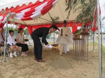 祝!地鎮祭(愛媛県 松山市 北欧住宅 フィンランドログハウス)