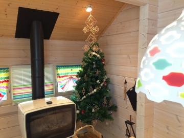 フィンランドスタイル クリスマスの飾りつけ(Forest Crew上林モデルハウス)