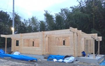 『北欧住宅フィンランドログハウスの構造イベント開催』 愛媛県東温市