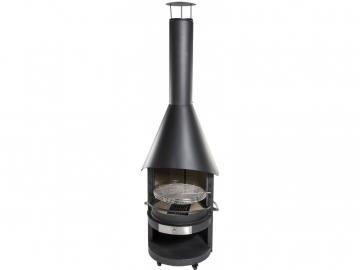 ログハウス生活での付加価値、楽しみ方、移動式BBQグリルの活用法