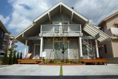 ログハウスの住み心地、小物、インテリア、6ヶ月点検(香川県さぬき市)