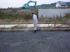 Forest Crew の ログハウスベタ基礎工事(JIO配筋検査)四国 愛媛県
