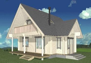 北欧スタイル ランタサルミログハウス特別構造説明会開催