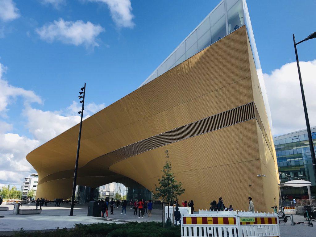 北欧フィンランド出張 ヘルシンキの新名所 Central library Oodi