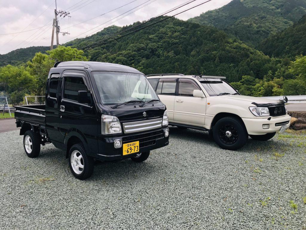 New CREW 加わる!  SUZUKI SUPER CARRY 4×4 4インチUP スズキスーパーキャリー 北欧ブランドイメージ ラッピング