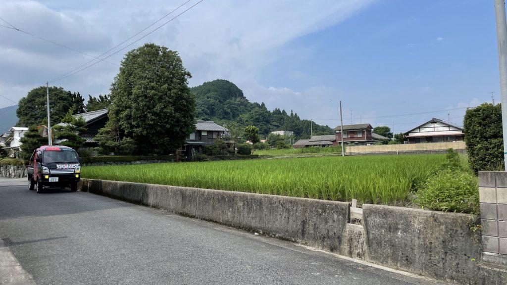 愛媛県西条市小松町 農地転用によるログハウス住宅計画